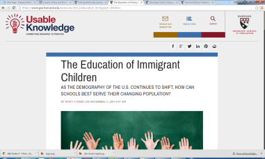 Education of Immigrant Children
