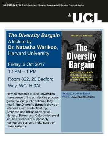 Warikoo lecture 6 October 17